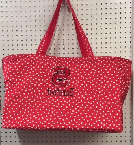 scattered dot ultimate tote ncstate game day