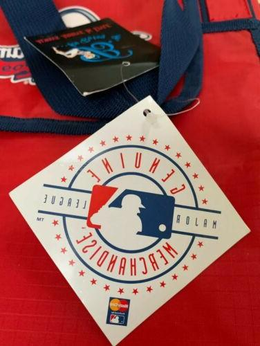 St. Louis All Star Baseball Game Tote Bag Extra With Snaps.