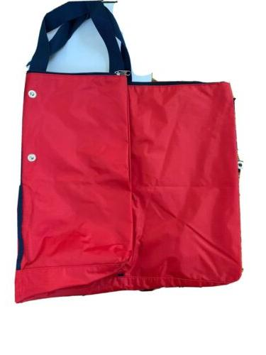 St. Louis Star Tote Bag Extra Large. Foldable With Snaps.
