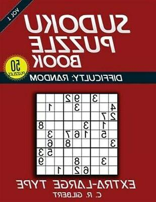 sudoku puzzle book extra large type paperback