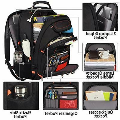 Travel 18.4 inch Backpacks USB
