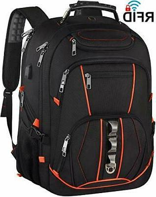 Travel Laptop Backpack,Extra Large 18.4 inch Gaming Laptop B