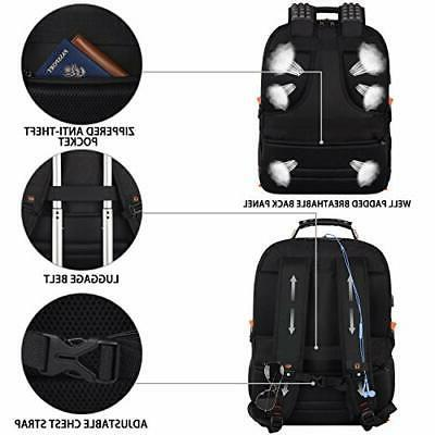 Travel Laptop Backpack,Extra 18.4 Backpacks with Ch