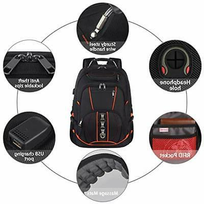 Travel Laptop Backpack,Extra 18.4 Backpacks with USB