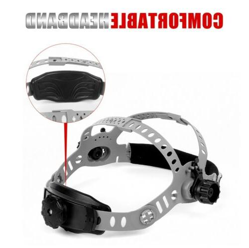 True Color View Pro Solar Helmet Auto Darkening Welder Mask