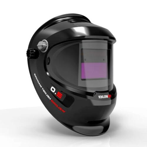 True Color Extra View Pro Welding Helmet Darkening Mask