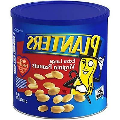 Planters Extra Large Virginia Peanuts Salted 52 Ounce