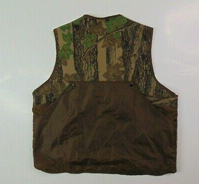 VTG Vest Camouflage Zip Trebark Camo