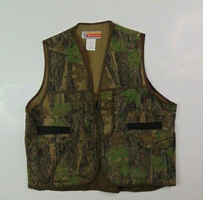 vtg men xl vest hunting camouflage full