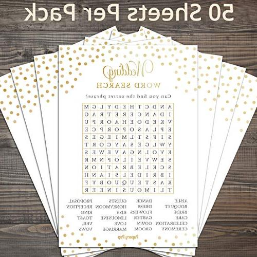 Wedding Cards - Games - Bachelorette Games Ideas Supplies
