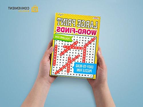 Word Search   80 Games Each Men, Women, Less Strain