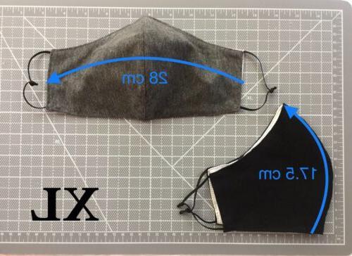 XXL XL Extra Big Size Premium Cotton Face Pocket