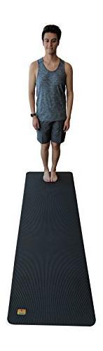 "FUYERLI Pogamat Yoga Mat and Stretching Mat - 84"" X 27"" x 7m"