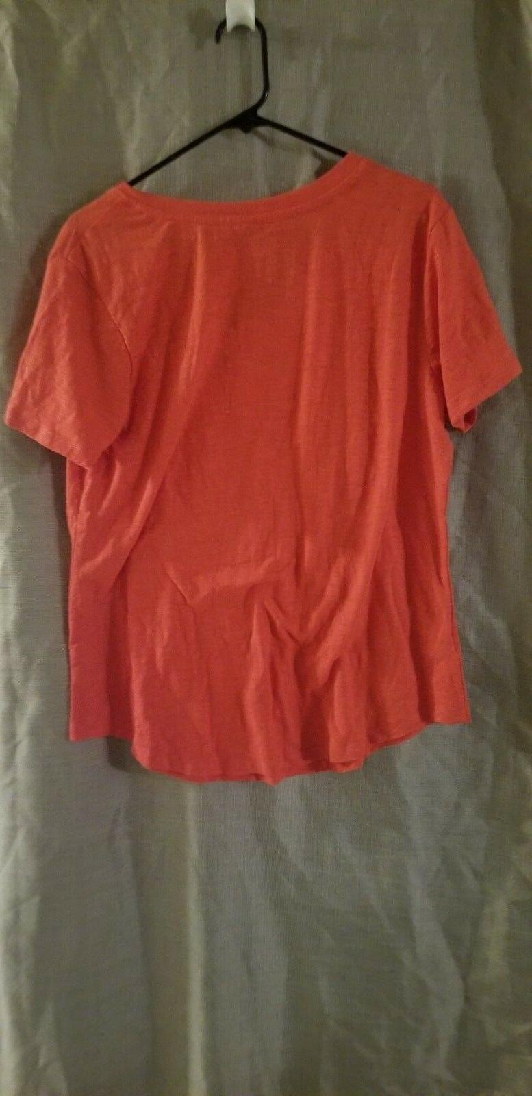 Z New Cotton Tee Shirt Top Extra Large