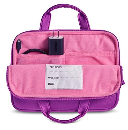 NuPro Fire 7 Tablet Fire 8 Kids Edition Purple/Pink