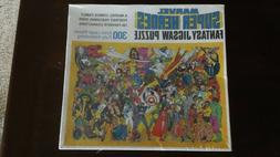 Whitman Marvel Super Heroes Fantasy Jigsaw Puzzle 300 Extra