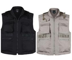 mens army military hunting game vest fishing
