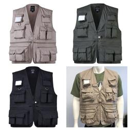 MENS Travel Photographers Touring Vest Fishing Gaming Campin