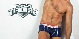 New GridFit Navy Aussiebum Men's Underwear/Boxer Trunks Next