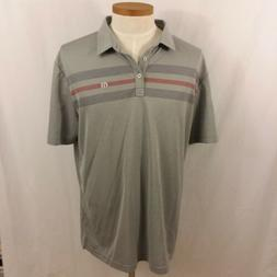 NEW Travis Mathew XL Prestige 777 Golf Polo grey Kia Finance