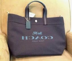 nwt canvas extra large tote in midnight