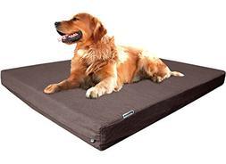 Dogbed4less Extra Large Premium Orthopedic Memory Foam Dog B
