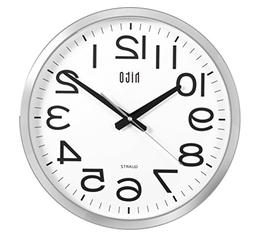 hito Silent Wall Clock Non Ticking Large Oversized Excellent