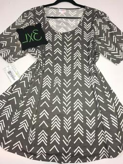 LuLaRoe Perfect T, 3XL 3-Extra Large XXXL