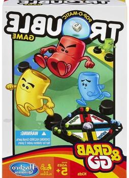 Hasbro Pop-O-Matic Trouble Grab Go Game Travel Size By Hasbr