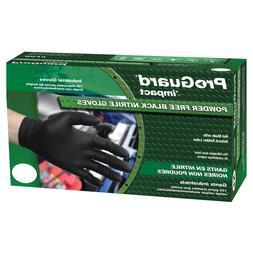 ProGuard Extra Large Black Nitrile Powder-Free Disposable Gl