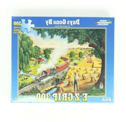 White Mountain Puzzles Days Gone By Train 300 Extra Large Pi