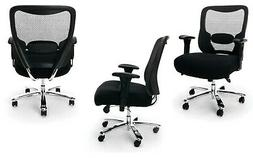 QTY 6 EXTRA LARGE Mesh Task Desk Office Chair HUGE SEAT 400