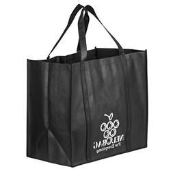 Extra Large Reusable Grocery Bags Set Of 5 By NELOBAG - Heav