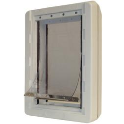 Ideal Pet Products Ruff-Weather Pet Door with Telescoping Fr