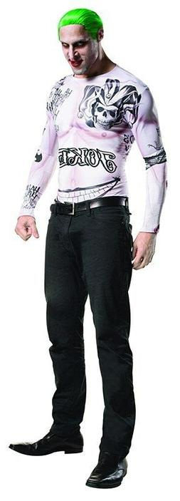 Suicide Squad Joker Halloween Costume Kit, W/Wig Makeup, FRE