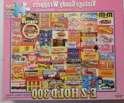 White Mountain Puzzles Vintage Candy Wrappers - 300Piece Jig