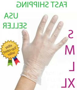 vinyl gloves powder free latex free non