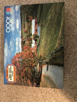 Vtg.MB 1000 Pc EXTRA LARGE THICK Puzzle FIRESIDE SPECIAL COL