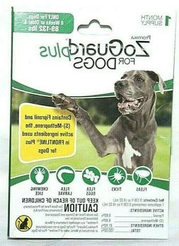 ZoGuard Plus Flea Tick Chewing Lice Treatment for Dogs, 89-1